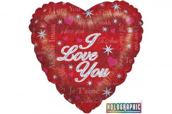 love balloon for valentines, special occasions, gifts