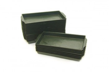 Single Brick Tray Green 25 Pack
