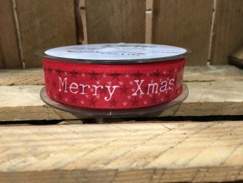 Merry Christmas ribbon from GT Sundries