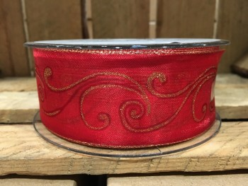 Christmas ribbon from GT Sundries