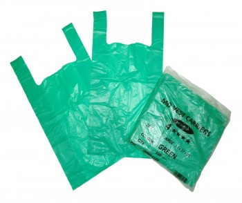 Large 4 Star Green Recycled Vest Carrier x 1000