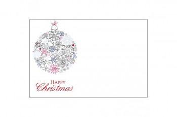 Christmas flower cards from GT Sundries
