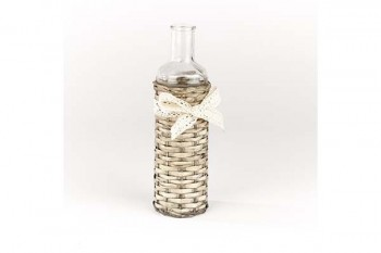 glass wicker bottle from GT Sundries