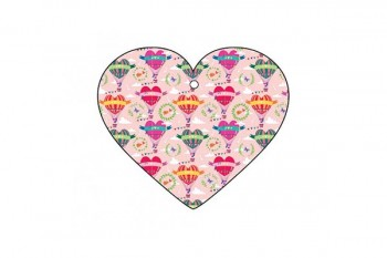 heart gift tag for arrangements, gifts, bouquets from GT Sundries
