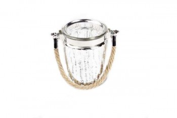 Silver candleholder from GT Sundries