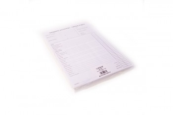 Wedding order pad by Oasis from GT Sundries