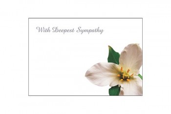Flower cards for florists bouquets and funeral tributes from GT Sundries