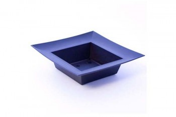 Designer square bowl for use with Oasis for floral arrangements