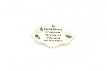 Memorial plaques and floristry items from GT Sundries
