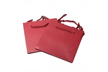 Hand Tie Bags x 10 Pieces Dark Red Size 170x170x170mm