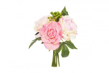 Pink Berry Rose 26 cm Posy