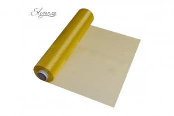 Organza roll in Gold from GT Sundries