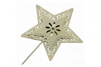 cream star wand for weddings and proms from GT Sundries
