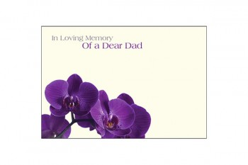 In Loving Memory of a Dear Dad Card