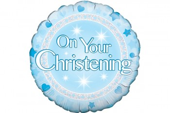 On Your Christening Balloon Boy