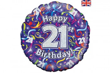Buy birthday age balloons from GT Sundries