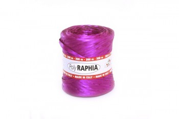 Poly Raphia Bright Purple 200m