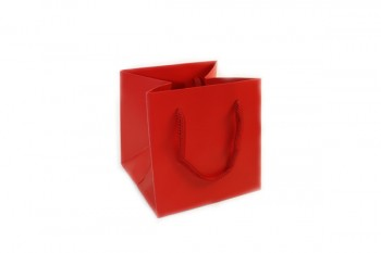 Hand Tie Bags x 10 Pieces Red Size 170x170x170mm
