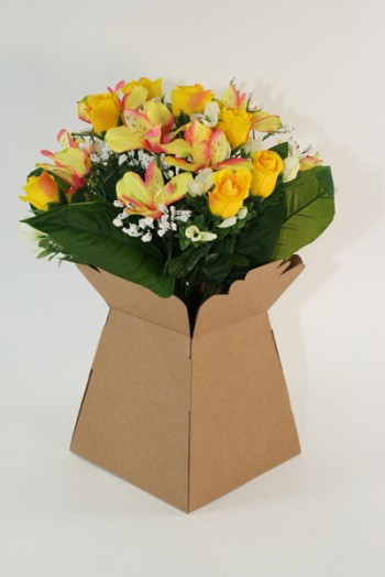 Living Vase Kraft 30 Pack