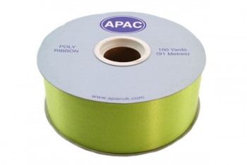 Poly Ribbon Lime Green