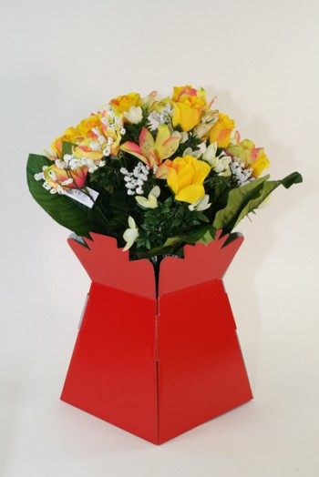 Living Vase Red 30 Pack