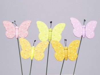 butterfly picks from GT Sundries wholesale florist supplies
