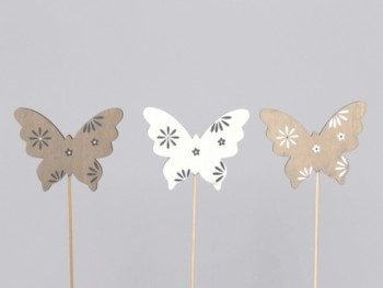 12 butterflies 9cm - 3 as
