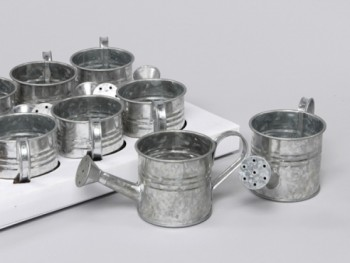 zinc watering cans from GT Sundries