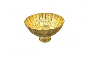 brass bowl for weddings, table arrangements, events from GT Sundries at wholesale prices