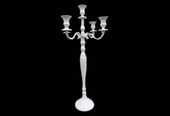 White candelabra from GT Sundries