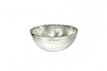 jagged edge hammered bowl from GT Sundries for all florist supplies