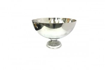 Buy silver smooth bowls for weddings and florist arrangements from GT Sundries for all florist supplies