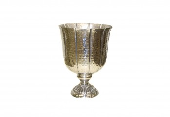 Silver bowl for weddings, events, parties, home decor, flower arrangements from GT Sundries