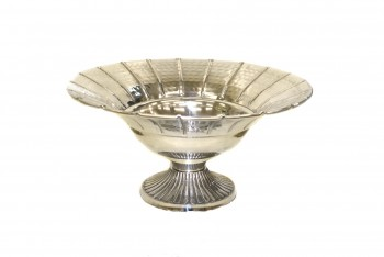 Silver bowl for Wedding arrangements and table centrepieces from GT Sundries